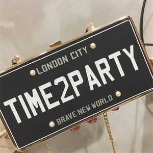 "Handbags - ""Time to party"" clutch"